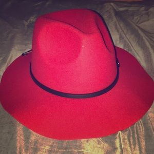 Accessories - Last one! Red fedora